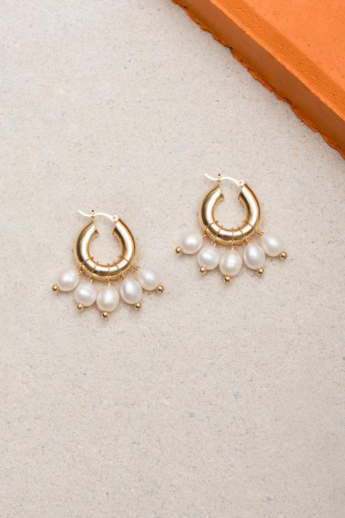 Eliou - Kavala Pearl Earrings