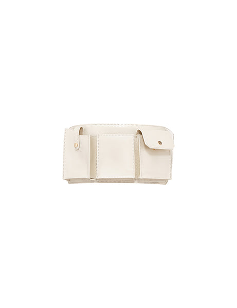 Pocket Belt - White