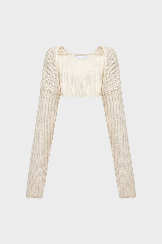 Sweater Sleeve - White