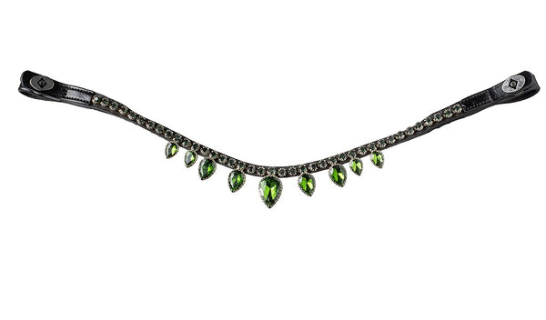 Dark Green Diamond Drops