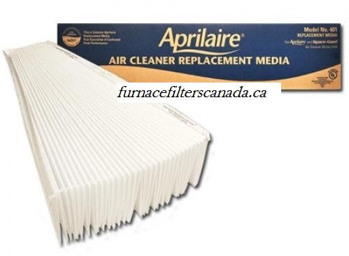 Aprilaire Part No. 401 MERV 10 Expandable Furnace Filters Pack of 2