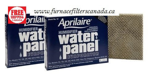 Aprilaire No. 12 Humidifier Water Panel Canada 2 Pack