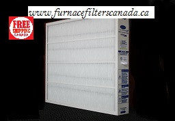 "Carrier/Bryant Part No. GAPCCCAR1625 / GAPBBCAR1625 MERV 15 17-1/16"" X 24-3/8"" X 3-1/2"" Furnace Filters Canada"