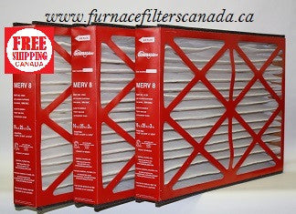 Generalaire Part No. 14164/4521 16 x 25 x 3 Furnace Filters Canada Pack of 3