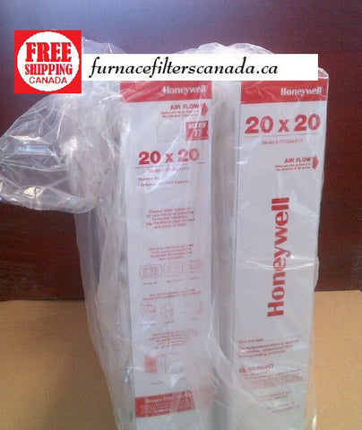 Honeywell FC100A1011 20 x 20 MERV 11 Pleated filters - Pack of 2