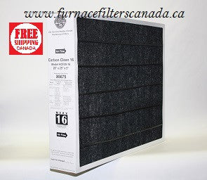 Lennox Healthy Climate Part No. X6675 Carbon Clean 16 20 x 25 x 5 Furnace Filters