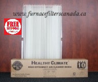 Lennox Healthy Climate Part No. X0444 Expandable Furnace Filters Pack of 2