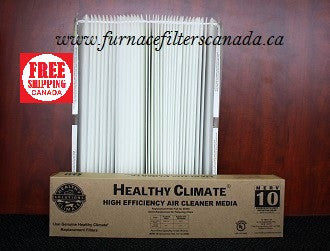 Lennox Healthy Climate Part No. X0445 Expandable Furnace Filters Pack of 2