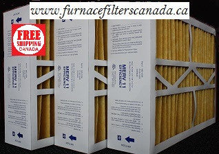 "Carrier Replacement Part No. M0-1056 15 3/8"" x 21 7/8"" x 5 1/4"" Furnace Filters in Canada Case of 3"