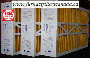 "Carrier Part # M1-1056 Furnace Filters in Canada  Case of 3 15 3/8"" x 25 1/2"" x 5 1/4"""