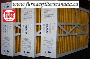 "Bryant Replacement Part No. M1-1056  15 3/8"" x 25 1/2"" x 5 1/4"" Furnace Filters in Canada  Case of 3"