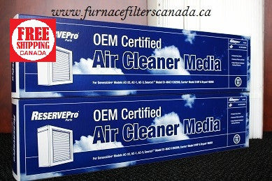 ReservePro / Air Bear Replacement Part# 12758 High Allergy Efficiency MERV 11 Expandable Media Furnace Filters Canada