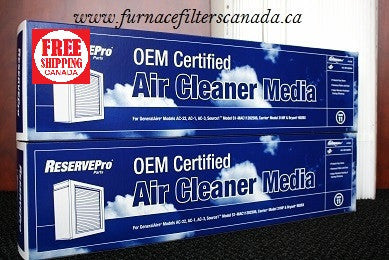 ReservePro Part No. 12758 High Allergy Efficiency MERV 11 Expandable Media Furnace Filters Pack of 2