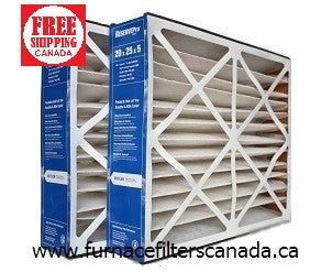ReservePro / Air Bear Replacement Part# GF-4501 20 x 25 x 5 MERV 10 Furnace Filters Canada Pack of 2