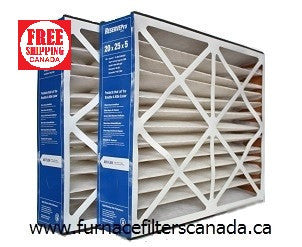 ReservePro Part No. GF-4501 20 x 25 x 5 MERV 10 Furnace Filters Pack of 2