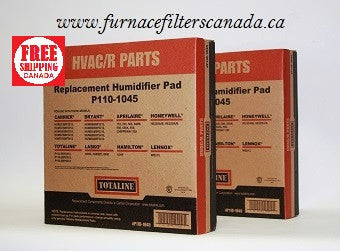 Totaline Part No. P110-1045 Humidifier Filter Pad Pack of 2