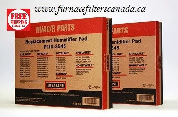 Totaline Part No. P110-3545 Humidifier Filter Pads Pack of 2