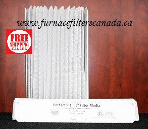 "Genuine Trane Part No. FLR 6232 ""Perfect Fit"" Expandable Media Furnace Filters Box of 2"