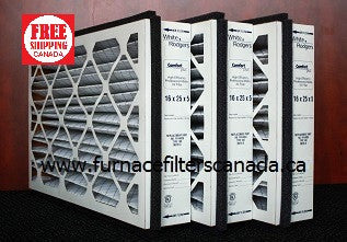White Rodgers Fr1400u Type 108 16x25x5 Furnace Filters