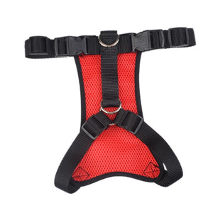 Reflective full chest harness