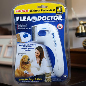 Anti-Flea Electric Pet Comb