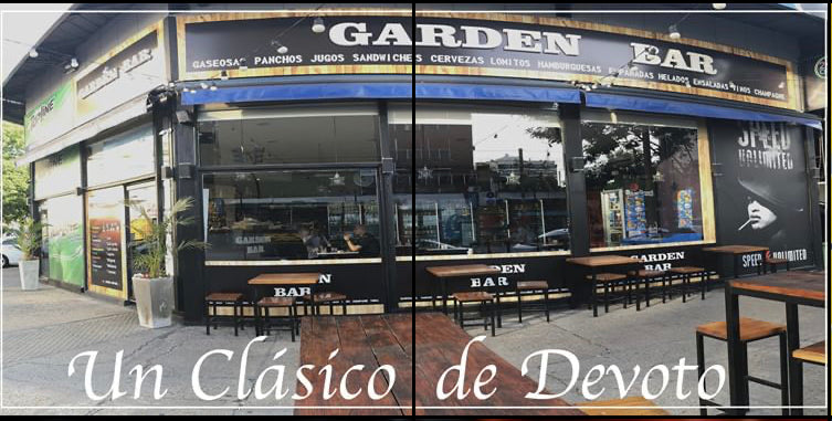 Garden Bar (Avenida Francisco Beiro 4704) - Gift Card