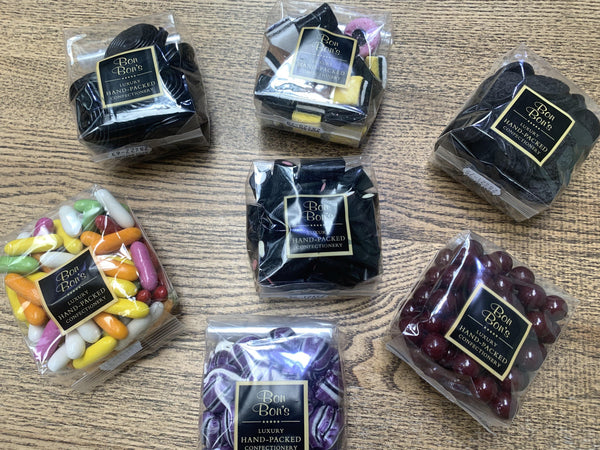 Mixed Selection of 4 Bags of Liquorice Sweets