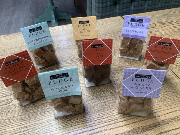 Mixed Selection of 4 Bags of Fudge