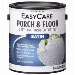 Exterior Satin Porch & Floor Coating, Urethane Fortified, Light Gray, 1-Gallon