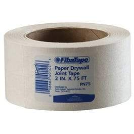 Paper Drywall Joint Tape, White, 2-In. x 75-Ft.