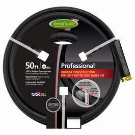 Green Thumb Hot Water Hose, 5/8-in x 50-Ft.
