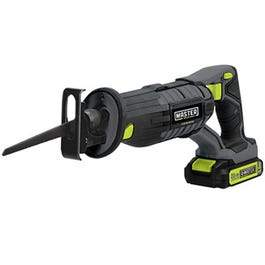 Compact Cordless Reciprocating Saw, 20-Volt Lithium-Ion