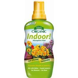 Organic Indoor Plant Food, 8-oz.