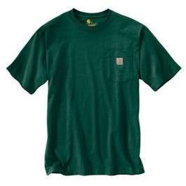 Pocket T-Shirt, Hunter Green, XXL