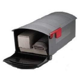 Patriot Post Mailbox, Black, Large, 21 x 11.5 x 9.5-In.