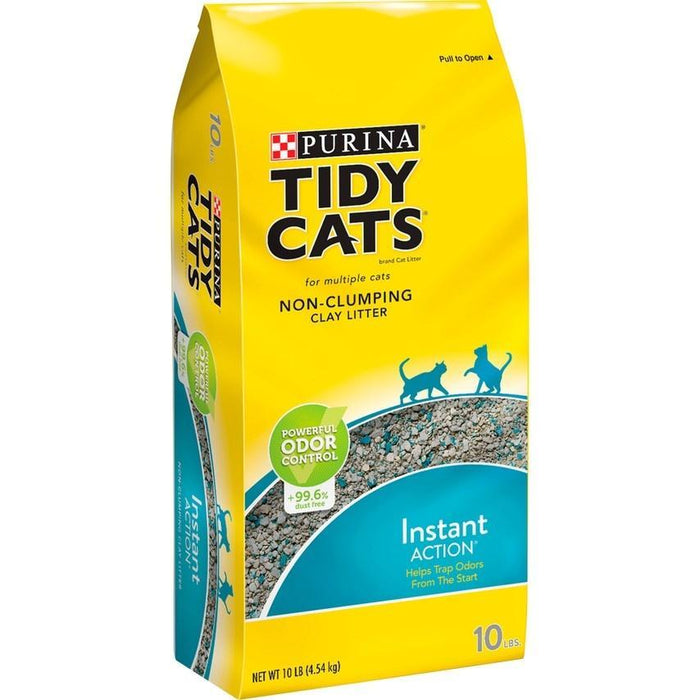 Tidy Cats Non Clumping Instant Action Immediate Odor Control Cat Litter
