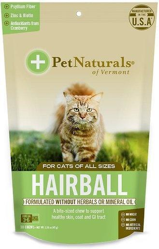 Pet Naturals of Vermont Hairball For Cats