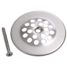 Chrome Tub Strainer Cover