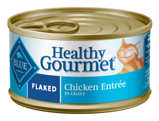Blue Buffalo Healthy Gourmet Flaked Chicken Entree Canned Cat Food