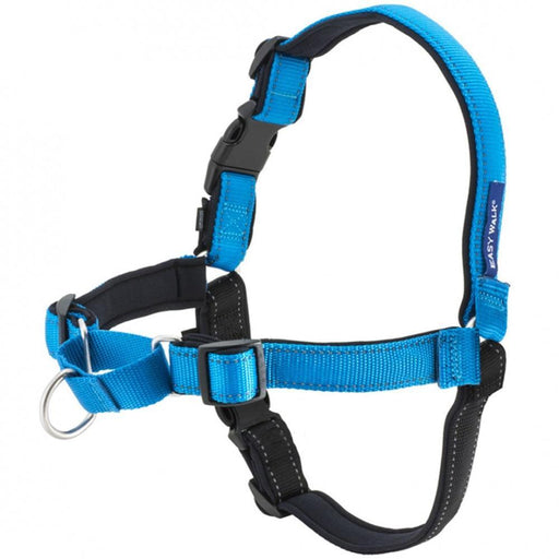 PetSafe Deluxe Easy Walk Ocean Blue & Black Dog Harness