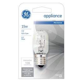 15-Watt Clear Appliance Light Bulb