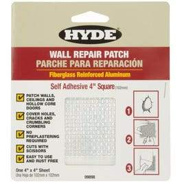 6-Inch Self-Adhesive Aluminum Drywall Patch
