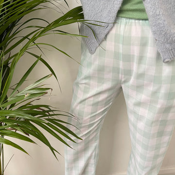 Inga Gingham Trousers