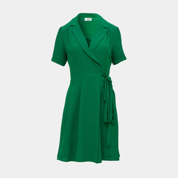 Lea Dress Short-Green