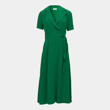 Lea Dress Long -Green