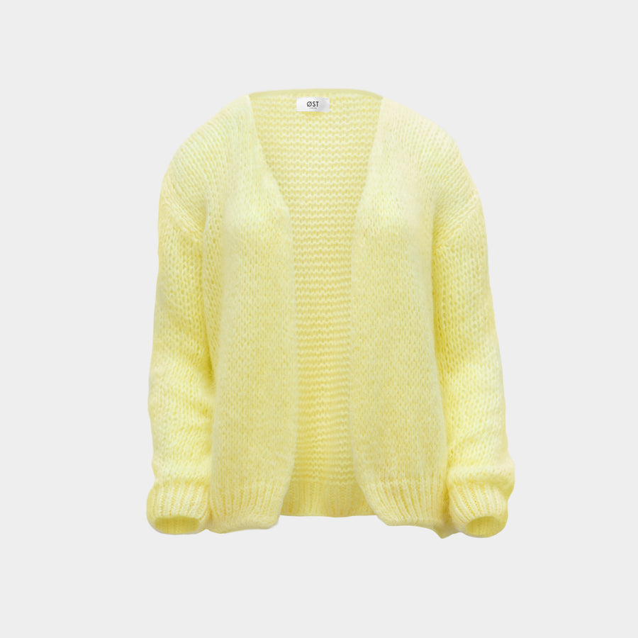 Pastel yellow cardigan