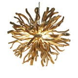 Wooden Chandelier, Inferno Size L