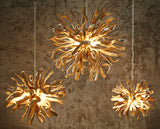 Wooden Chandelier, Inferno Size M