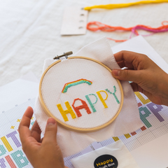 Happy Craft Box Embroidery