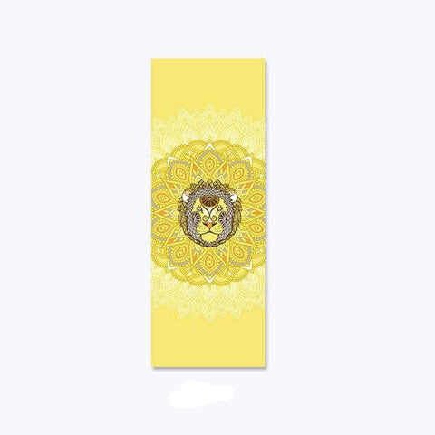 Tapis Yoga Signe Astrologique Lion